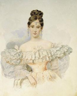 Брак Натальи Гончаровой с Сергеем Пушкиным