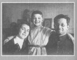 Родители братьев Стругацких