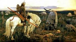 Описание картины В.М. Васнецова: «Витязь на распутье»