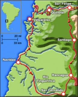 Первая экспедиция Дарвина в Анды (июнь — ноябрь 1834 г.)