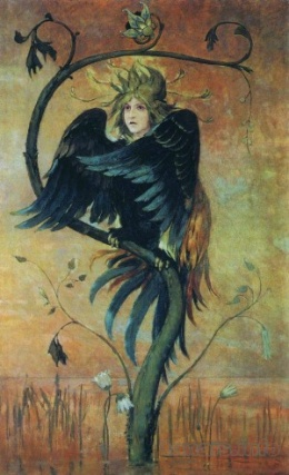 Описание картины В. М. Васнецова «Гамаюн, птица вещая»